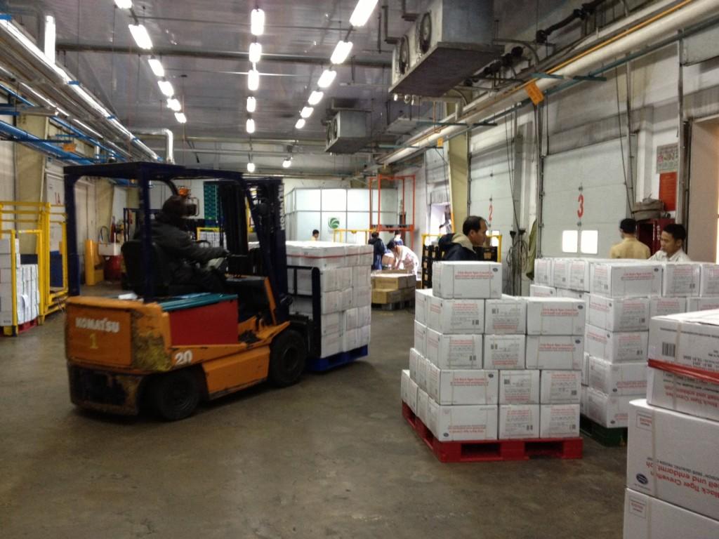 ホーチミン冷凍倉庫