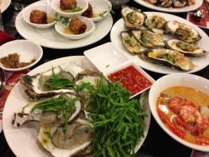 カンボジア牡蠣