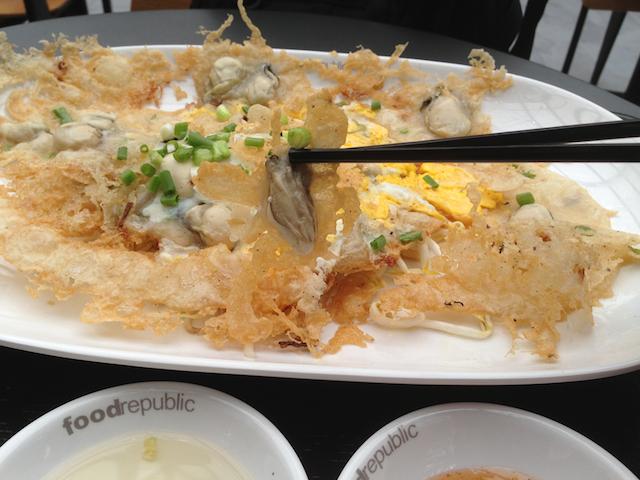 タイ牡蠣焼き