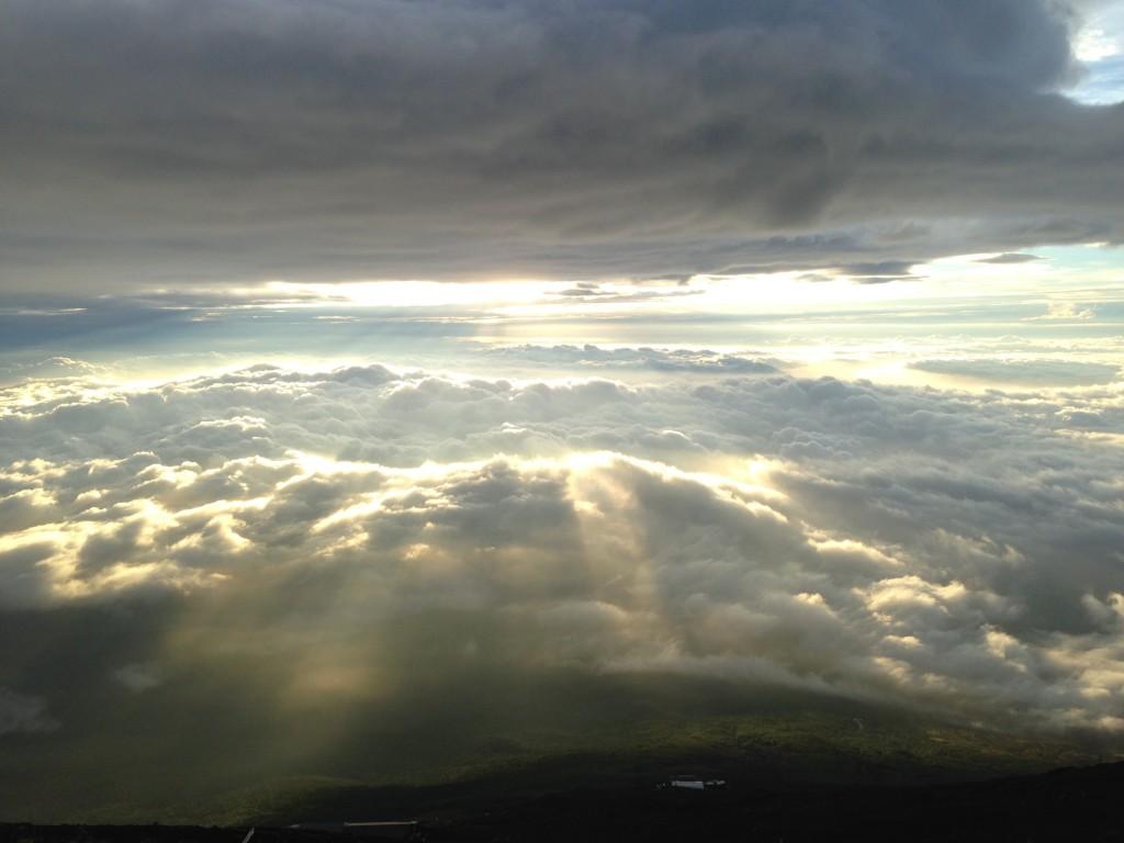 Rising Sun at Mt.Fuji